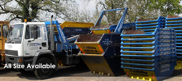 Skips in Horsham